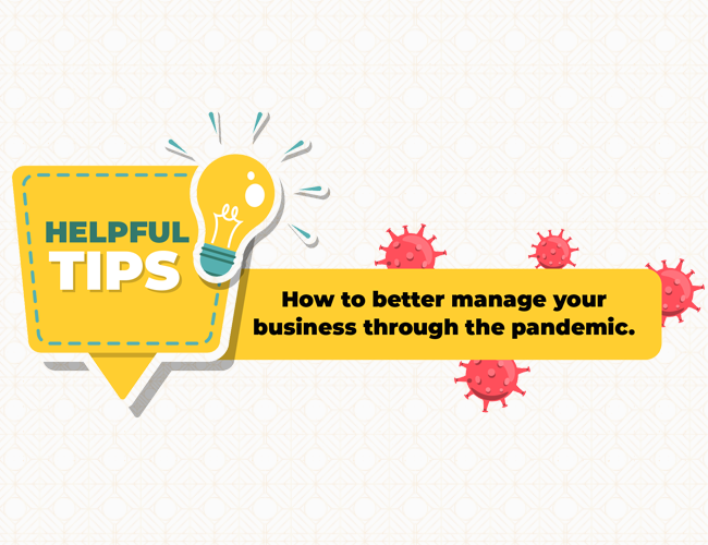 5 ways to better manage your business through the pandemic